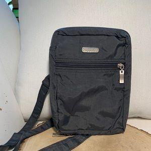 BAGGALLINI Grey   Hot Pink Crossbody Shoulder Bag